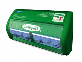 Salvequick Pflasterbox &Camp; Bluedectable 490750
