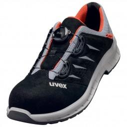uvex 2 trend Gelochter Halbschuh mit Boa® Fit System 69082 S1 P SRC Weite 11