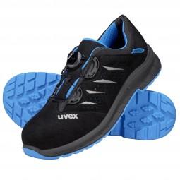 uvex 2 trend Gelochter Halbschuh mit Boa® Fit System 69382 S1 P SRC Weite 11