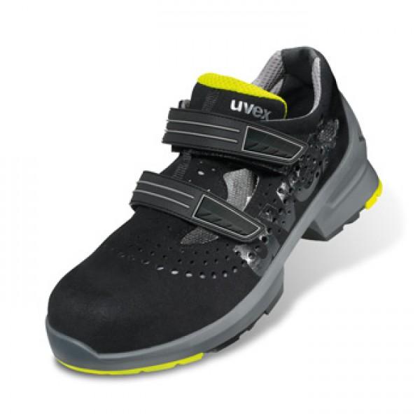 uvex 1 sandale 8542 8 s1 src sicherheitsstufe s1 schuhe mbs marktl berufskleidung und. Black Bedroom Furniture Sets. Home Design Ideas