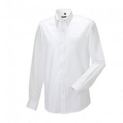 Herren Hemd Oxford Style weiss